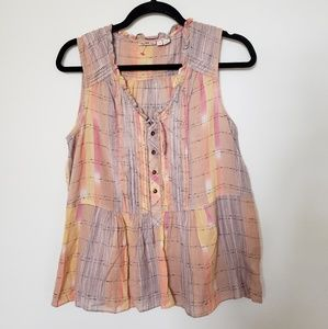 HOLDING HORSES Anthropologie Tank Top